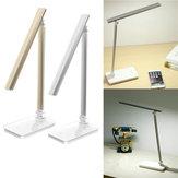 Folding Touch Sensor LED Desk Table Light USB Dimmable Eye Care Reading Lamp