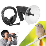 Parabolic Microphone Monocular X8 Bionic Ear Long Range Birds Listening Telescope 200M