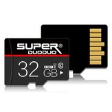 Superduoduo Class 10 High Speed 16GB 32GB 64GB Storage Memory TF Card for Mobile Phone Tablet GPS