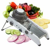 Mandoline Adjustable Stainless Steel Multi-function Vegetable Cutter Chopper Julienne Food Slicer