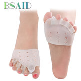 2 Pairs/ Set Toe Separator Tibia Corrector Set Forefoot Pad