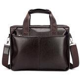 UomoVeraPelleBusinessHandbagLaptop Bags Briefcase