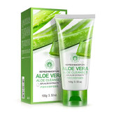 BIOAQUA Aloe Vera Facial Cleanser Refresh Moisture Repairing Plant Extract Gentle Face Washing