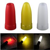 Linterna LED Convoy de 24.5mm Difusor Blanco/Amarillo/Rojo Accesorios de Linterna Convoy S2 S3 S4 S5 S6 S7 S8