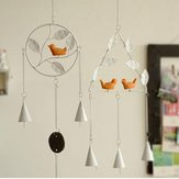 Honana DX-203 Creative Bird Handmade Metal Bells Campanula Home Decor Ornaments Iron Pendant
