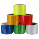 3m Long Safety Caution Reflective Tape Warning Tape Sticker Self Adhesive Tape 6 Colors