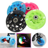 Original 100mm LED Flash Light Up Wheels For Mini Micro Scooter With 2 ABED-7 Bearings