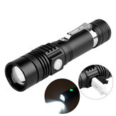 XANES WT518 XM-L T6 1000Lumens 3Modes Portable Zoomable LED Flashlight