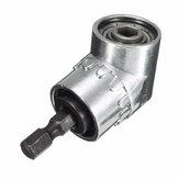 Drillpro 1/4 Pulgadas Hexagonal Cilindro Taladro Controlador del Ángulo de 105 Grados Ajustable Controlador de Ángulo Destornillador