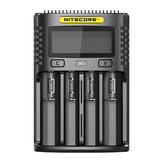 NITECORE UMS4  USB Battery Charger LCD Screen Smart 3Modes Charging For Almost All Battery Types