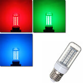 E27 E14 G9 B22 3.5W 48 SMD 5050 LED RGB Color 300Lm Home Lighting Corn Bulb AC110V