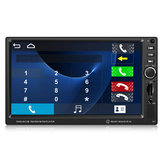 7inch 1080P Touch Double 2 Din Car MP5 Player Bluetooth FM Radio TF Aux + Camera