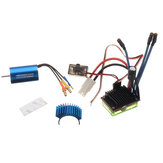 Wltoys A949 A959 A969 A979 Brushless Set 2440 4600KV Motor 30A ESC With Heat Sink Rc Car Parts