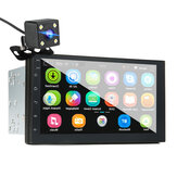 7 Inch Double Din Car MP5 Player Android 8.0 Stereo Radio GPS Navigation bluetooth FM USB WIFI Rear Camera