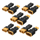 5Pairs XT60 Female Male Plug To XT30 Female Male Plug Connector