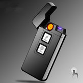 Arc Coil Touch Induction Windproof Pulsed Plasma USB Rechargeable Electric Cigarette Lighter