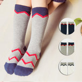 Lovely Socks Stripe Cotton Knee Hosiery Baby Stocking Kids Girls Casual 0-3Years