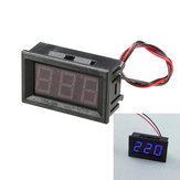 5Pcs 0.56 Inch Blue AC70-500V Mini Digital Voltmeter Voltage Panel Meter AC Voltage LED Display Meter