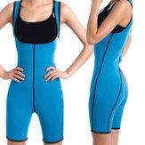 Original ParamujerShapewearBodyFullSweat Shaper Aptitud Gym Sport Adelgazamiento Keep Fit Sauna Suit Vest