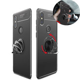 Original Bakeey 360° Adjustable Metal Ring Kickstand Magnetic PC Protective Case for Xiaomi Mi MIX 2S