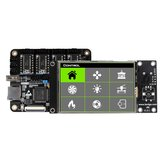 Lerdge® X Integrated Controller Board Mainboard With 32-bit Coretx-M4 Core Control Unit + 3.5inch LCD Touch Screen + 4PCS LV8729 Stepper Motor Driver For Reprap 3D Printer