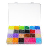Original 24 colores 2.6mm DIY Fuse Beads Toys Kids Hama Beads Inteligencia creativa Educación Puzzles