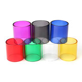 Replacement Colored Transparent Pyrex Glass Tube Cap Tank for Smok TFV8 7 Colors