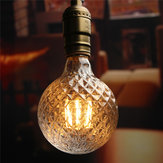 E27 4w ananas lampe cru antique edison filament torchis LED ampoule 85-265V