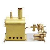 Microcosm M2C Mini caldera de vapor con doble cilindro Marina Steam Motor Stirling Motor Modelo