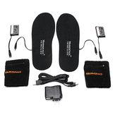 WARMSPACE Electric Heated Shoe Insole Foot Warmer Heater Feet Warm Socks Boot + 2 Battery