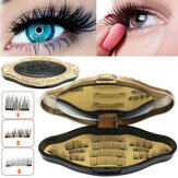 3 Style Magnetic Eyelashes With Mirror