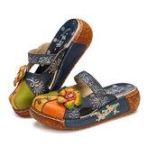SOCOFYLederFlache Loafers