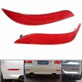 Pair Red Rear Bumper Reflector Light For BMW 5 Series E60 525i 528i 530i 535i 545i
