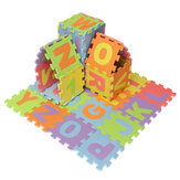 Mini 36pcs EVA Foam Pad Alphabet Number Puzzle Baby Crawl Play Kids Mat