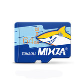 MIXZA Shark Edition Memory Card 64GB TF Card Class10 For Smartphone Camera MP3