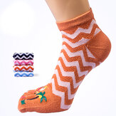 Womens Cute Stripe Autumn Warm Middle Tube Socks Soft Good Elastic Socks