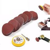 Effetool BG0300 2 Pouces 50mm Crochet et  Patin de Pinçage 3mm Tige avec 60pcs 100 à 2000 Kit Gravier Papier de Sable