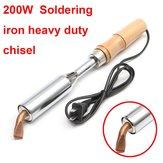 Punto de soldadura 200w soldador punto de cincel 200 vatios artesanía ac 220v