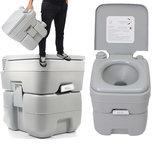 20L Toilette Portable d'Urgence pour Extérieure Randonnée Voyage