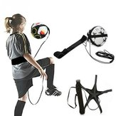 Fútbol Kick Trainer Skill Soccer Training Equipment cintura ajustable Cinturón