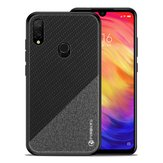 MOFI PINWUYO Cloth Pattern Shockproof Soft TPU Back Cover Protective Case for Xiaomi Redmi Note 7 / Note 7 Pro