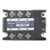 JGX-3 D4840 Three Phase Solid State Relay SSR DC-AC 40A Input 3-32VDC 24-480VAC