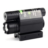 532nm 5mW Red Dot Infrared Laser Launcher with Flashlight Integrated 800M