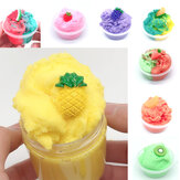 120ML Fruit Slime Brushed Crystal Cotton Clay Decompression DIY Gift Stress Reliever