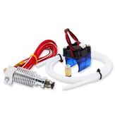 Kit de télécommande pour extrudeuse Hotend à tête en J de 0,4 mm avec filament 1.75 mm PLA/ABS avec ventilateur de refroidissement + grille de ventilateur