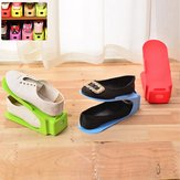 7 Colors Space-Saving Shoe Display Racks
