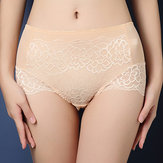 Original Mid Waist Full Hips Cozy Women Lace Underwear