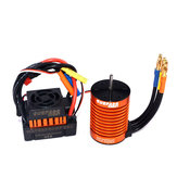 Original Surpass Hobby Waterproof F540 3300KV Brushless Rc Car Motor +45A ESC Combo Set For 1/10 Rc Car
