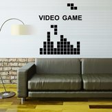 Hot Play VIDEO GAME For Kids Rooms Decoration Removable Vinyl Stickers Art Mural Wallpaper Removable Wall Stickers Room Bedroom Nursery Vinyl Wall Decal DIY Art Decorative Wall Stickers