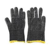 MECO 240mm grands gants de boucher de protection résistants de preuve de coup de couteau de coupure de sécurité